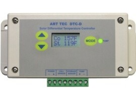 DTC-D-Solar Powered Differential Temperature Controller